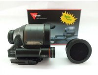 Wholesale Srs Solar Sight - holographic sight Trijicon SRS 1x38 Solar powered Red Dot Sight with anti-reflection cover fits any 20mm rail