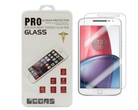 Wholesale One X Screen Protector - Tempered Glass Screen Protectors Film For Moto G,G 2nd,G 3rd,G4 plus,x play,HTC one M8,M9,M10,A9,Desire 626with Retail box