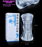 Wholesale Transparent Silicon Pussy - Silicon Male Masturbation Pocket Pussy Transparent Penis Trainer To Avoid Premature Ejaculation Male Sex Toys