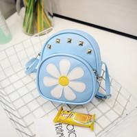 Wholesale Dora Children - High Quality Children Girls Mini Bag Cute Printing Anime Rivet Zipper 2017 Dora Small Backpacks Mochila