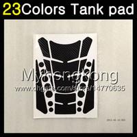 Wholesale Bmw Rr - 23Colors 3D Carbon Fiber Gas Tank Pad Protector For BMW S1000R S1000RR 15 16 17 2017 S1000 RR 2015 2016 2017 15 16 17 3D Tank Cap Sticker