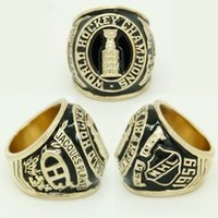 Wholesale band collection - Collection Edition Sports Series Jewelry 1959 Montreal Canadiens Championship Rings Crystal Men's Ring