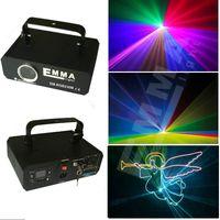 Wholesale Dmx Sd Card - rgb 1000 1W SD CARD ILDA DMX Sound Control Animation multi color Laser Light