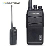 transceptor 3km al por mayor-Al por mayor- Zastone ZT-V1000 impermeable Walkie Talkie UHF 400-480MHz 8W 2000mAh Radio bidireccional al aire libre HF Transceptor Handheld CB Ham Radio
