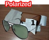 ingrosso occhiali da sole multi colorati-MOQ = 1 donna metallo Dazzle color Occhiali da sole di guida in vetro occhiali da ciclismo uomini polarizzati guida occhiali da sole con MARRONE NERO spedizione gratuita