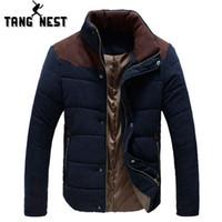 Wholesale Big Beautiful Men - 2017 Winter Necessity Warm Beautiful Fashion Casual Intimate Wadded Jacket Coat Plus Big Size 3XL Wholesale Hot Selling MWM346
