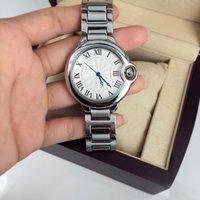 Wholesale Bracelet Boxes Round - A pcs lot Fashion Style Women man Watch Lady Wristwatch Steel Bracelet Chain Classic lover Watch High Quality aaa watches Gentleman free box