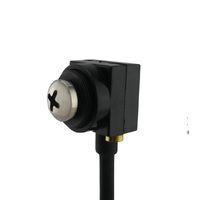 hd gizli ev kamera toptan satış-beyaz vida CMOS 600TVL Pinhole Lens Mini FPV CCTV Pinhole Gizli Casus Ev Güvenlik Kamera Ses Kamera Mini Düğme