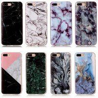 Wholesale Iphone Soft Glossy Case - Art Glossy Granite Marble Soft TPU Phone Case Cover F iPhone 5 6 7 Samsung S6 7