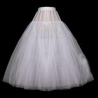 organza petticoat weiß großhandel-Weißer Ballkleid-kurzer Brautunterrock-Organza-Unterrock für Hochzeits-Kleid plus Größen-Krinoline 2019 P03