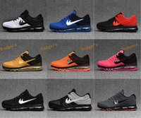 Wholesale Wrestling Shoes Mens Size 13 - New Arrive Maxs 2017 Mens Maxes Running Shoes Sneakers Maxes Athletic Shoes Men Women Sport Shoes Maxes KPU 3 Size US 7-13 Free Shipping