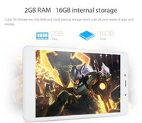 Wholesale Wholesale 4g Phones China - 5pcs DHL Cube T8 Ultimate 4G LTE Tablet PC Octa Core 8 Inch Android 5.1 2GB Ram 16GB Rom GPS 4G Phablet
