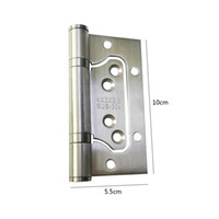 Wholesale Stainless steel hinges High quality door hinges High quality Hardware Bedroom kitchen Door fittings accessories Factory