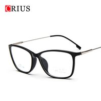 Wholesale Eyeglasses W - Wholesale- w oculos de grau omen's optical glasses frame eyeglasses optical frame clear glasses prescription eyewear Metal alloys vintage
