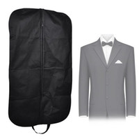 Wholesale Garment Bags For Travel - New Coat Clothes Garment Suit Cover Bags Dustproof Hanger Storage Protector Travel Storage Organizer Case For Home Organizers