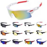 Wholesale Glasses For Running - Sports Sunglasses for Men & Women Windproof UV400 Cycling Running Driving Fishing Golf Baseball Softball Hiking Glasses Eyewear
