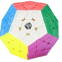 Wholesale Convex Plane - Qiyi X-Man Galaxy Megaminx Sculpture Convex Concave Plane Cubo Magico Speed Cube Twist puzzle Magic Cube Educational Toys