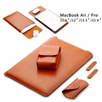 Stock En Estados Unidos Soft Super Fiber manga bolsa para Apple Macbook Air Pro Retina 12