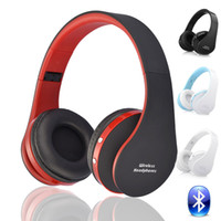 Wholesale Earphones Headphone Usb Computer - Blutooth Big Casque Audio Cordless Wireless Headphone Headset Auriculares Bluetooth Earphone For Computer Head Phone PC With Mic