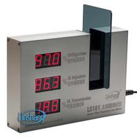 Wholesale Solar Transmission Meter - New Solar Film Transmission Tester Meter LS101 IR 950NM Uv 365NM Vl 380-760NM