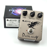 Wholesale reverb effect guitar resale online - JOYO JF Digital Delay Guitar Effect Pedal True Bypass ms ms