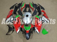 Wholesale Rs 125 - New Injection ABS Full bike fairing kits for aprilia RS125 2006-2011 RS 125 06 07 08 09 10 11 RS4+Tank cover bodywork set red silver green