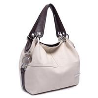 Wholesale Cell Phone Items - Wholesale- New 2016 Hot Item Women's Handbag PU Leather messenger Splice grafting Casual women bag Shoulder Crossbody Mosaic fashion bags
