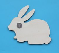 Wholesale Mdf Decorations - Rabbit ply wood DIYcraft base better than MDF
