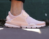Mesh sports safari - New arrival sport Arctic Orange womens running shoes brand QS Safari Pack fashion Sock Dart Breathe women trainers sneakers size