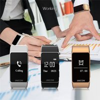 Wholesale Golden Earphones - New arrival Jakcom B3 Sports Smart wristband Smart Watch Support bluetooth earphone Sleeping heart rate monitor bracelet with retail box