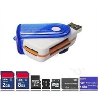 Wholesale Otg Mobile Card Reader - Memory Card Readers High Speed 2.0 Mini Micro SD T-Flash TF USB Memory OTG Card Reader for Mobile Phone Tablet PC Mini Cardreader FPAB0011
