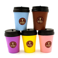 original coffee cups - Lucio Coffee Cup squishy Toys original package rare Cute Jumbo Squishy cell phone Strap Charm Kawaii Toy