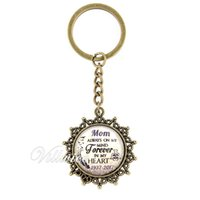 """Wholesale Personalized Jewelry Friends - """"...always on my mind forever in my heart"""" personalized name date custom key chain commemorative jewelry gift for family friend"""