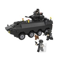 Wholesale Toy Building Blocks Special Police Series Special Police Armored Vehicles Children Puzzle Assembled Toys