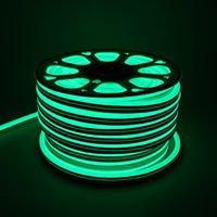 neon disco lichter großhandel-24V Safe LED Neon Flex Lichter 50 cm 20 Zoll Schneideinheit wasserdichte LED Leuchtreklamen für Hotel Club Bar Disco Weihnachtsfeier