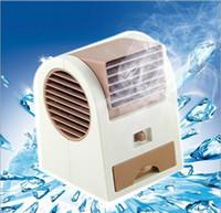 klimaanlage verkauf großhandel-HOTTEST Verkauf Mini-USB-Duft-Kühlventilator Portable Desktop Home Decoration Fan Kühlung Klimaanlage mit Retail-Verpackung