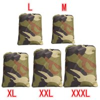 Wholesale Atv Cover Xxl - Universal 190T Camouflage Waterproof Motorcycle Cover Quad ATV Vehicle Scooter Motorbike Cover M L XL XXL XXXL