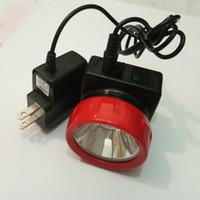 Wholesale Miners Led Headlamp - Hot Sale 30pcs lot LD-4625 Wireless LED Light Mining Light Miners Lamp Headlamp For Hunting Camping