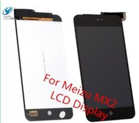 Wholesale Display Lcd Meizu Mx2 - Wholesale- New For Meizu MX2 Full LCD Display + Touch Screen Digitizer Glass Assembly