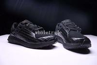 Wholesale Porsche Black - Free Shipping Porsche Design x Ultra Boost Triple Black Running Shoes Mens Ultra Boost Triple Black sneakers for sale Size 40-45