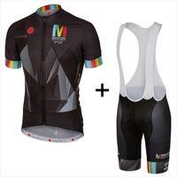 Wholesale New Cycling Kits - Brand New 2016 Men's Cycling Jersey Maillot Ciclismo Short Sleeve and Cycling bib Shorts Cycling Kits