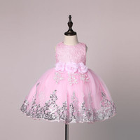 Wholesale Tutu Toddler For Girls - Baby Girl Dress 2017 New Princess Infant Party Dresses for Girls Summer Kids tutu Dress Baby Clothing Toddler Girl Clothes