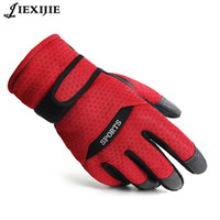 Wholesale Girls Fingerless Cotton Gloves - Wholesale- winter professional gloves girls boys waterproof warm gloves Leather pig skin thickening and velvet gloves