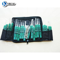 Wholesale Original Guns - Original KLOM 32 pcs Lock Pick Tool Superior Pick Set Locksmith Tools Free Shipping