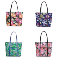 Wholesale Lavender Trimming - VB Trimmed Cotton Bag Shoulder Bag Tote Casual Shoulder Handbag Shopping Bag