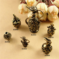 Wholesale Vintage Jewelry Diy Materials Zakka - DIY jewelry accessories wholesale Beaded material Zakka retro teapot charms, 3D vintage pendants for bracelet and necklace free shipping