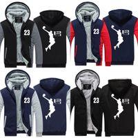 Wholesale Boys Lavender Jacket - New Cool Man Hoodie LeBron James Boy Jacket Men Long SleeveThicken Fleece Zipper Tops Male Hot Sale USA EU size Plus size