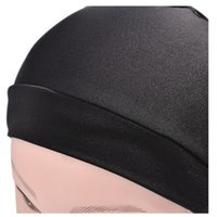 Wholesale Wholesale Nylon Spandex - Spandex Dome Cap For making wigs Wig Cap Snood Nylon Strech Hairnets Wig Caps Black 4pcs lot