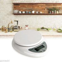 Wholesale Electronic Kitchen Postal Scales - Popular New 5000g 1g 5kg Food Diet Postal Kitchen Digital Scale scales balance weight weighting LED electronic