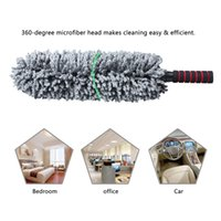 Wholesale multipurpose cleaner - Microfiber Multipurpose Duster Pollen Removing Lint Washing Cleaning Tool With Telescopic Handle